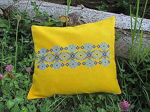 Úžitkový textil - špaldový a pohánkový vankúš - 9543256_