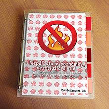 Papiernictvo - Vtipný zakladač proti páleniu zbytočných poznámok - 9541037_
