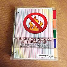 Papiernictvo - Vtipný zakladač proti páleniu zbytočných poznámok 2 - 9541072_
