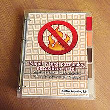 Papiernictvo - Vtipný zakladač proti páleniu zbytočných poznámok 3 - 9541453_
