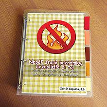 Papiernictvo - Vtipný zakladač proti páleniu zbytočných poznámok 5 - 9542667_