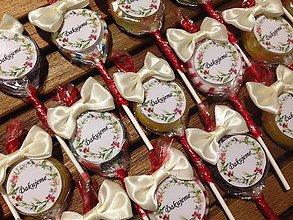 Darčeky pre svadobčanov - SVADOBNÉ LÍZATKA - MINI - 9546468_