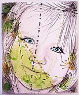 Obrazy - Portrét na plátne 1 - 9545773_