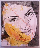 Obrazy - Portrét na plátne 2 - 9545837_