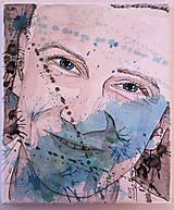 Obrazy - Portrét na plátne 3 - 9545866_