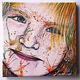 Obrazy - Portrét na plátne 5 - 9545913_
