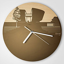 Hodiny - Pamätník SNP, Banská Bystrica - plywood clocks - 9544287_