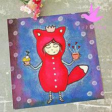 Grafika - Pozvanie na kávu a koláčik :) 20 x 20 cm - 9545925_