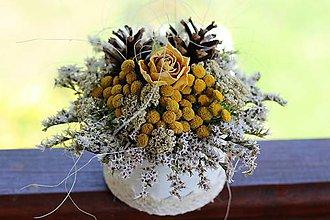 Dekorácie - Kvetinový box - 9544647_