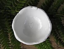 Nádoby - porcelánové misky na prstienky - 9544479_