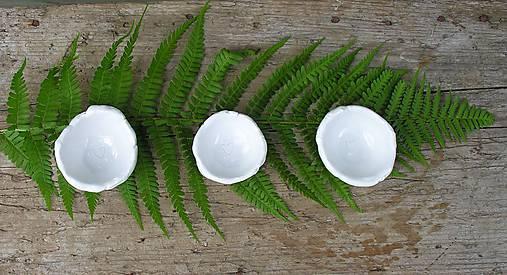 porcelánové misky na prstienky