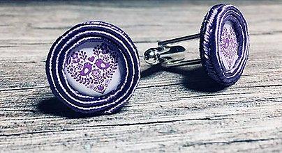 Iné šperky - FOLKI manžetové gombíky - 9545249_