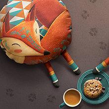 Úžitkový textil - Sleeping Foxy - Large - 9543725_