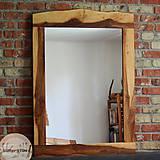Zrkadlá - Drevené zrkadlo BREKYŇA - 9546005_