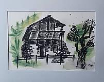 Obrazy - Domy a príroda 8 - 9545931_