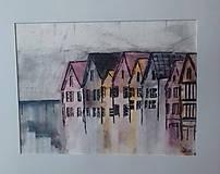 Obrazy - Farebné domy 3 - 9545939_