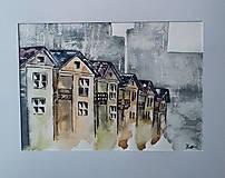 Obrazy - Farebné domy 2 - 9546004_