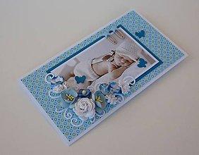 Papiernictvo - Obálka na peniaze - chlapček - 9546456_