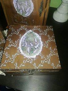 Krabičky - ❤Provence❤ čajovka - 9545192_