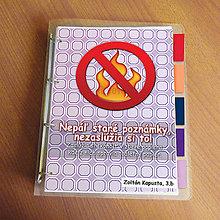 Papiernictvo - Vtipný zakladač proti páleniu zbytočných poznámok 7 - 9543666_