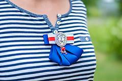 """Odznaky/Brošne - Brošňa """"Feeling Love Marine"""" - 9547270_"""