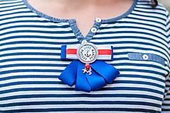 """Odznaky/Brošne - Brošňa """"Feeling Love Marine"""" - 9547274_"""