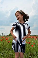 Detské oblečenie - Carina šaty sailor - 9547369_