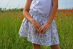 - Celesta letná sukňa vyfarbovacia - 9547914_