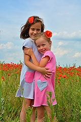 Detské oblečenie - Carina šaty pink - 9548403_