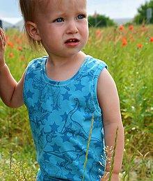 Detské súpravy - Alex kraťasy a tielko dino - 9547896_