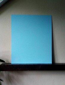 "Tabuľky - Magnetická tabuľka ""Modrá""  (50cm x 60cm) - 9548367_"