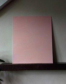 "Tabuľky - Magnetická tabuľka ""Marhuľová"" (50cm x 60cm) - 9548482_"
