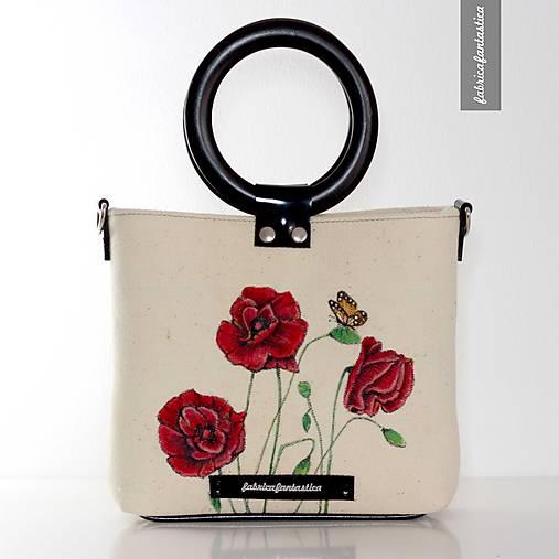 Divé Maky no.1 - ručne maľovaná kabelka   Fabrica Fantastica - SAShE ... 18249e3710d