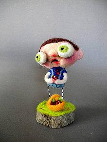 Dekorácie - Erik a jeho cerstve jahody - 9548718_
