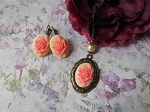 Sady šperkov - Zámocká ruža X. - 9548291_
