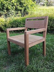Nábytok - Dubová stolička - 9549257_