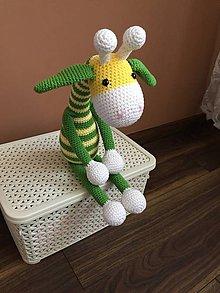 Hračky - žirafka Zelenka - 9549069_