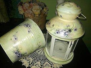 Svietidlá a sviečky - lampášik pre svetlušku - 9548966_