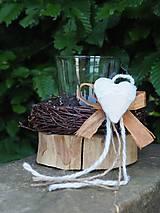 Svietidlá a sviečky - svietnik - 9548792_