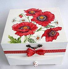 Krabičky - Šperkovnica- Divé maky - 9551860_