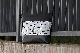 Veľké tašky - Taška rybky SILVER - 9549732_