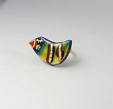 Prstene - Tana šperky - keramika/zlato - 9551289_