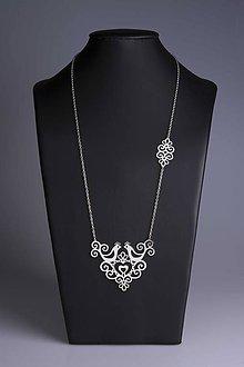 Náhrdelníky - Náhrdelník Slovenská ornamentika dlhý ( ch. ocel/ pozlátené- varianty) - 9551814_