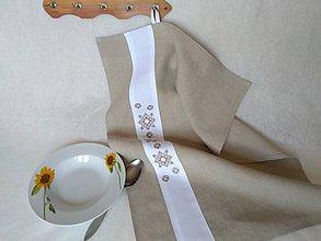 Úžitkový textil - Utierka ľanová - Vertik - 9551187_