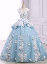 Náhrdelníky - Náhrdelník ♥ WHITE & BLUE WEDDING ♥ - 9550172_