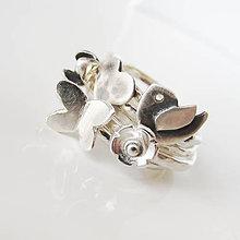 Prstene - Spolu_Prebúdzanie / strieborné prstienky - 9550646_