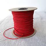 Galantéria - Klobúková guma 2 mm viac farieb - 9551843_