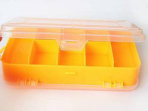 Obalový materiál - Obojstranná plastová krabička na drobnosti, bal.1ks - 9551789_