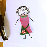 Magnetky - Šaty s kryštálikmi - FIMO magnetka - 9549551_