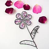 - farebný kvet s menom - 9552642_